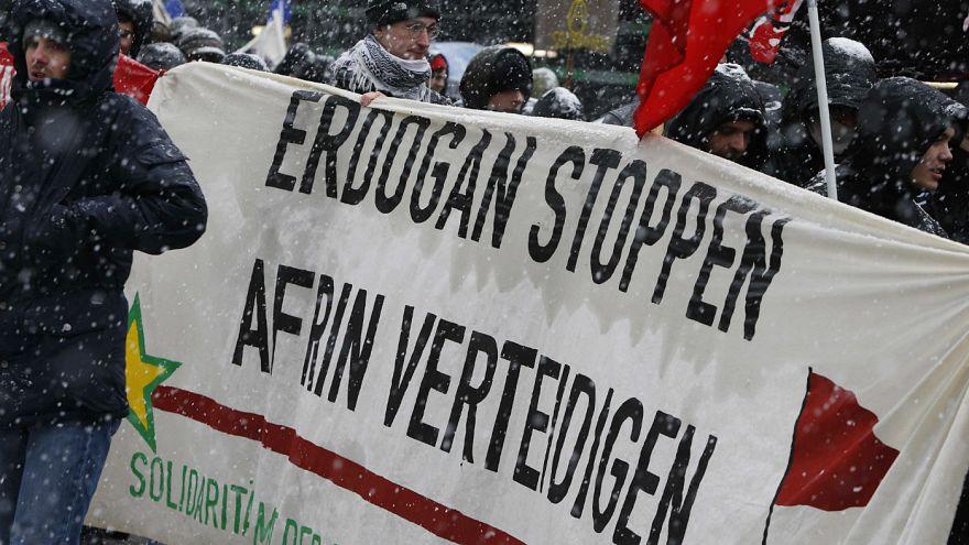 Kürt gruptan Avrupa ülkelerine 'Afrin tehdidi'