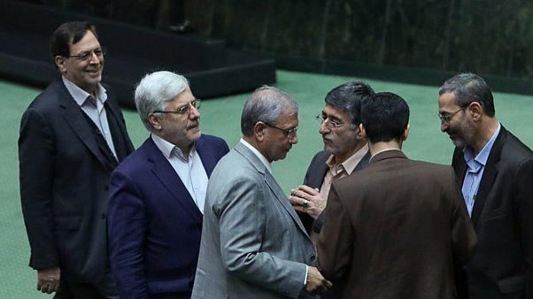 جلسه استیضاح وزیر کار ایران