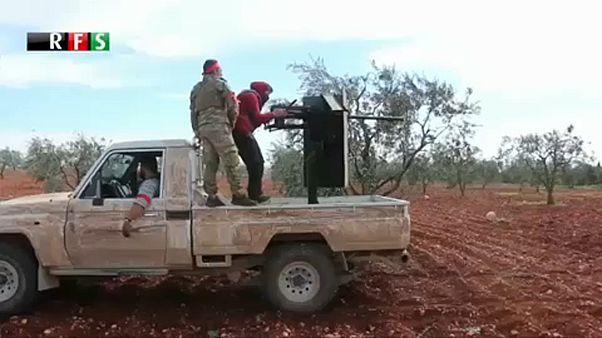 Körbezárták a szíriai Afrint