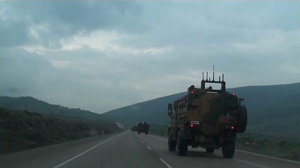 Turkish army encircles Syria's Afrin