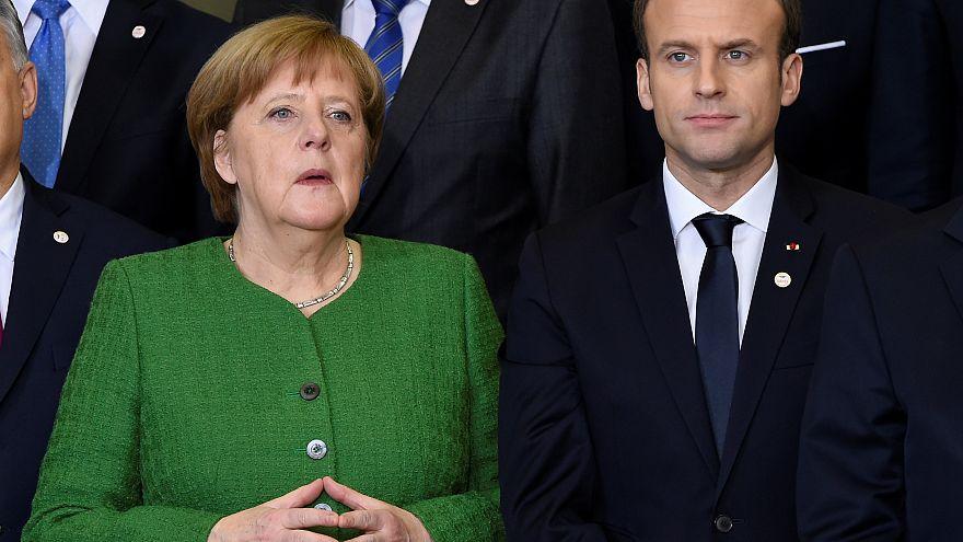 لقاء وشيك لميركل وماكرون لمناقشة إصلاح الاتحاد الأوروبي