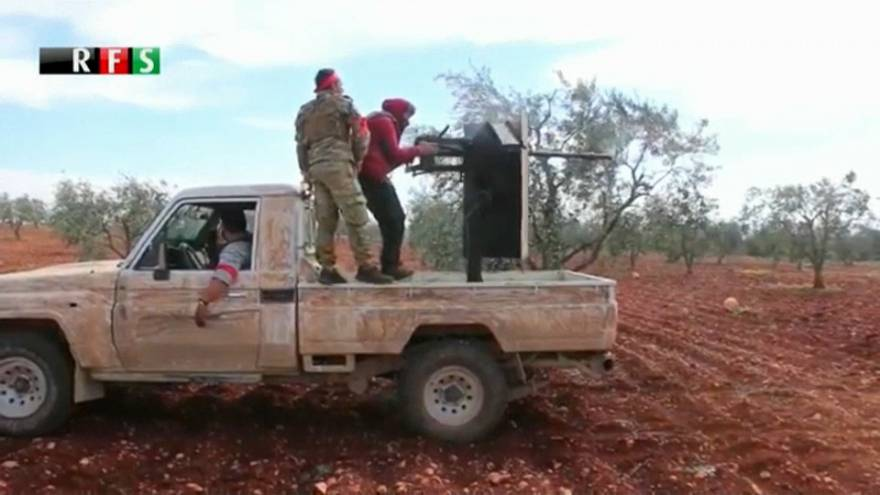 El ejército turco, a las puertas del enclave kurdo de Afrín