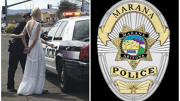 القبض على عروس أثناء توجهها إلى حفل زفافها