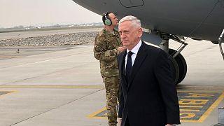 US-Verteidigungsminister Mattis landet in Afghanistan.