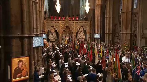 A Nemzetközösséget ünnepelte az angol királyi család