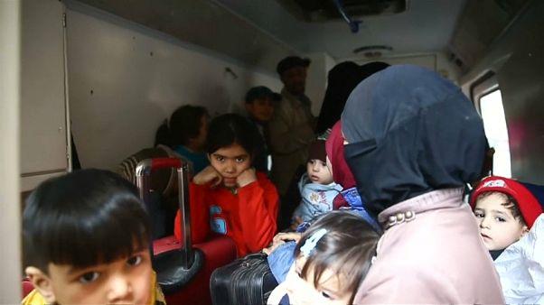 Más de un centenar de personas evacuadas de Guta Oriental
