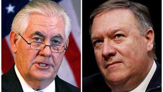 ترامب يقيل تيلرسون من منصبه ويعين مدير وكالة الاستخبارات المركزية مكانه