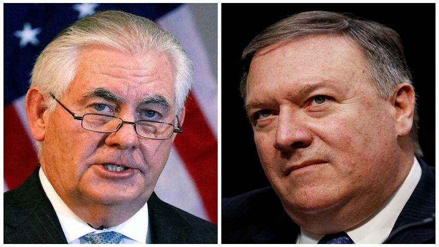 Trump ousts Tillerson as Secretary of State, CIA director Pompeo to take post