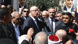 Gazze'de Filistin Başbakanı Hamdallah'ın konvoyuna saldırı