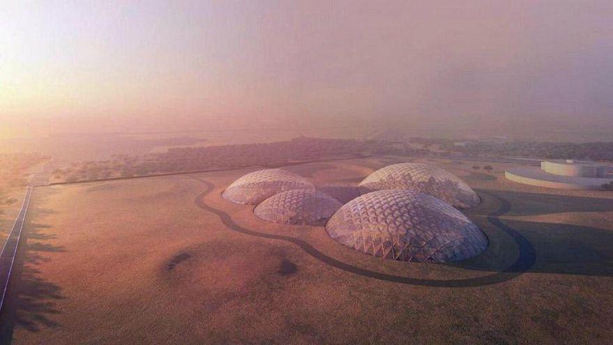 Dubai'ye Mars Bilim Kenti