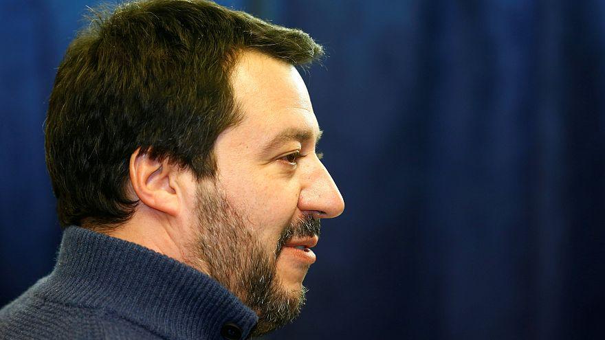 Matteo Salvini, az Északi Liga vezetője