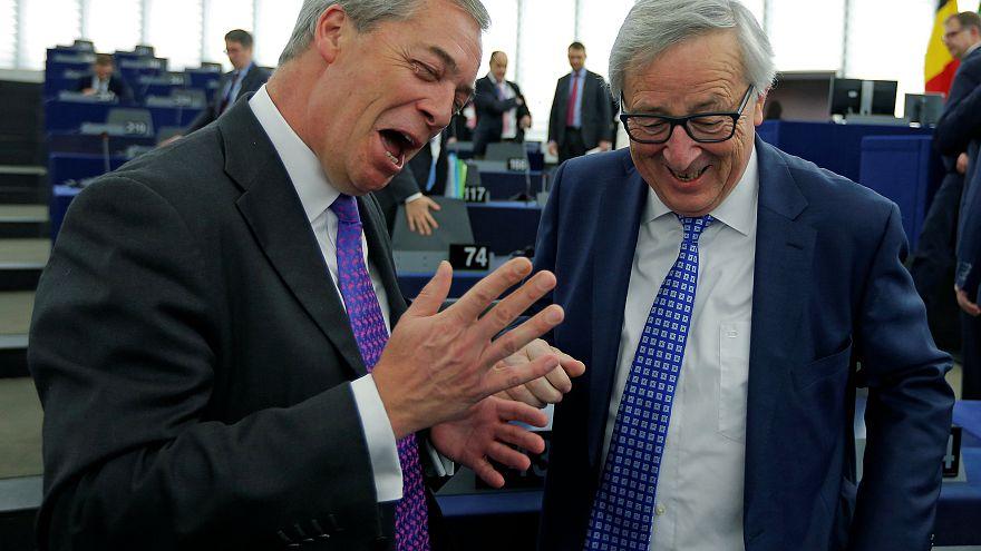 "Евроскептики аплодируют ""брекситу"""