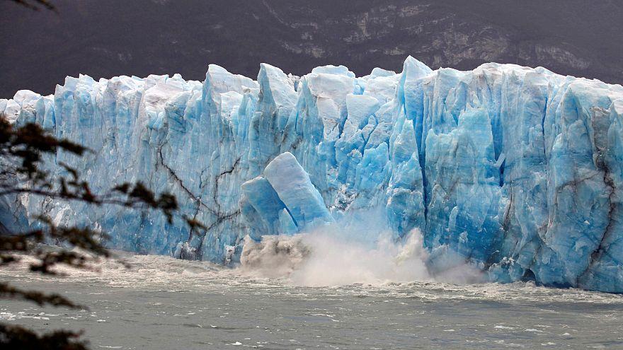 Spektakulärer Gletscherbruch in Argentinien