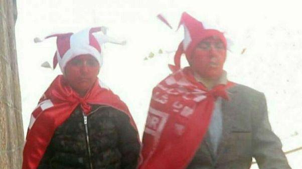 دو دختر پسرنما در تلاش برای ورود به ورزشگاه تبریز بازداشت شدند