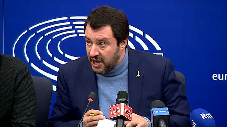 Italian right-wing leader slams EU 'destroyers' in Strasbourg