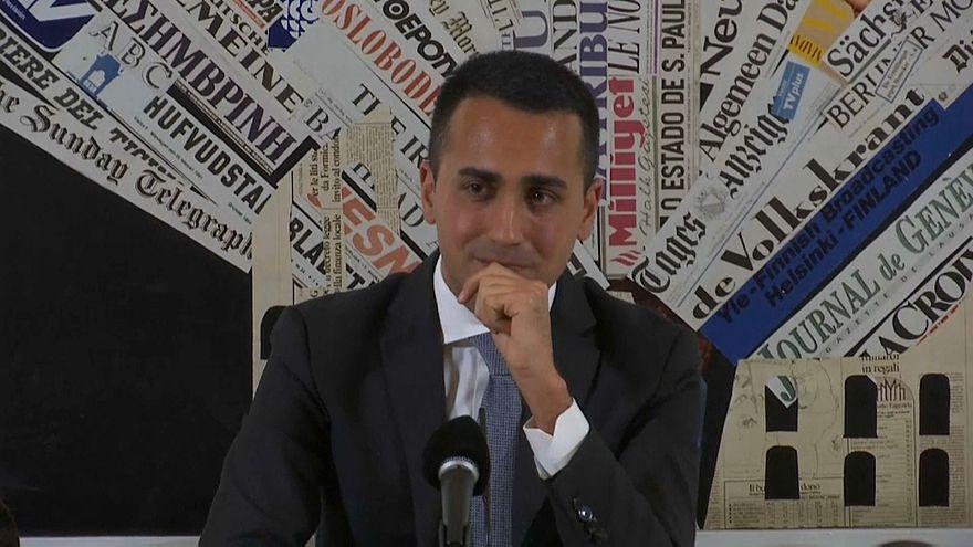 """Di Maio alla Stampa estera: """"Con noi l'Italia resterà nell'Ue, nella Nato e in Occidente"""""""