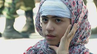 Doentes e feridos deixam enclave de Ghouta Oriental