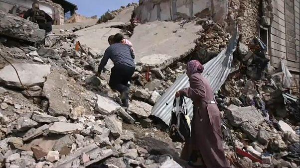 Rückkehr in die zerstörte Heimat