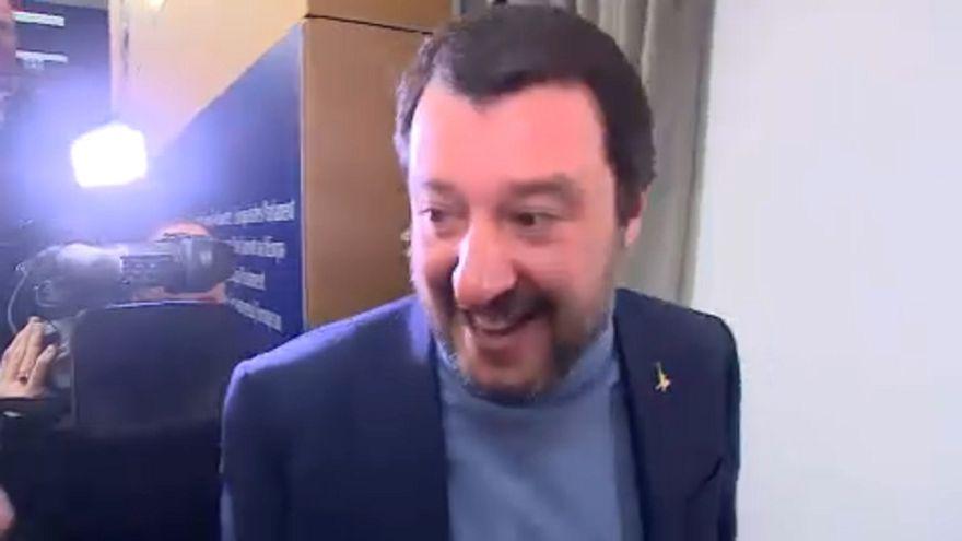 Matteo Salvini im Rampenlicht