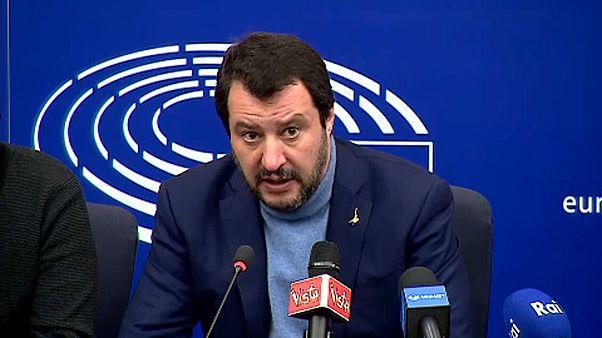 «Θερμό» επεισόδιο με Σαλβίνι στο Ευρωκοινοβούλιο