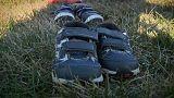 7.000 paires de chaussures devant le Capitole
