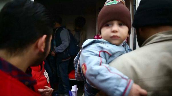 Ghouta Est: inizio delle operazioni di evacuazione