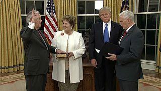 Tillerson thanks everyone except Trump