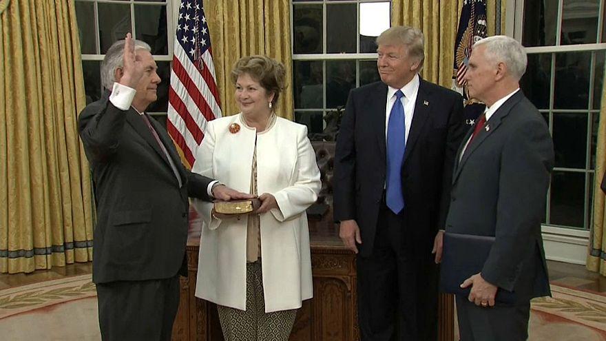 Трамп меняет госсекретаря