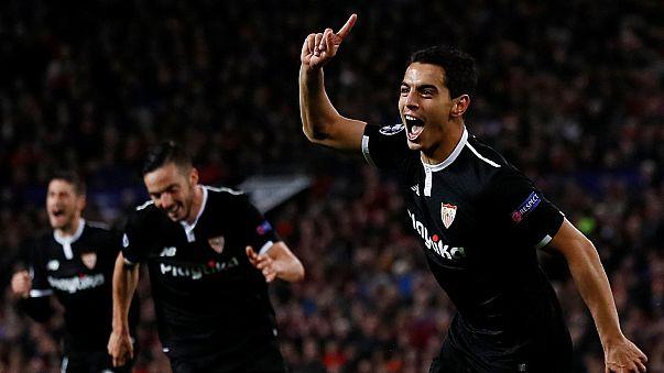 Ben Yedder hace historia para el Sevilla en Old Trafford