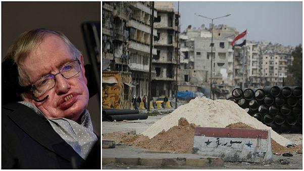 استیون هاوکینگ در سال ۲۰۱۴ در مورد جنگ سوریه چه گفته بود؟