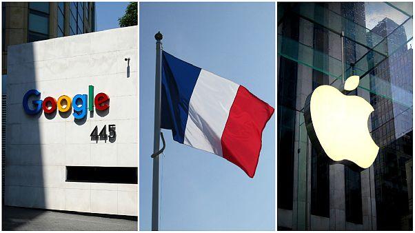 فرانسه به دلیل رویکرد تجاری شرکت های گوگل و اپل علیه آنها اقامه دعوی می کند