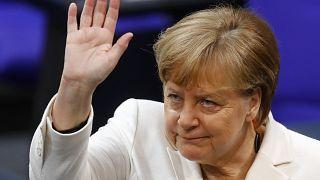 Merkel als deutsche Kanzlerin wiedergewählt