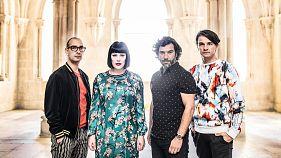 Португальская группа The Gift в прямом эфире