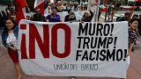 Trump enciende los ánimos en California con su visita a los prototipos del muro