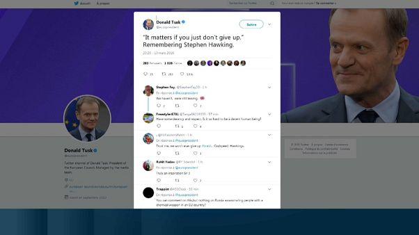 Twittter se llena de mensajes para despedir a Stephen Hawking