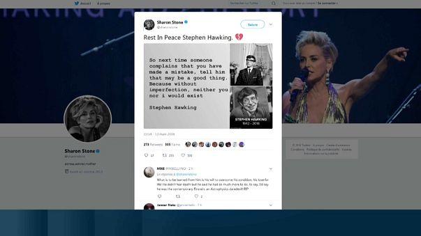 Hawking: Il cordoglio del mondo su twitter