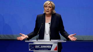 Marine Le Pen's proposed party rebrand has sparked controversy