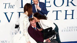 Stephen Hawking faisait aussi son cinéma