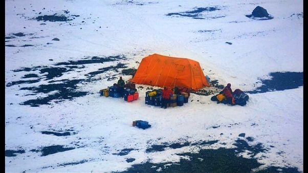 Sauvetage de scientifiques en Antarctique