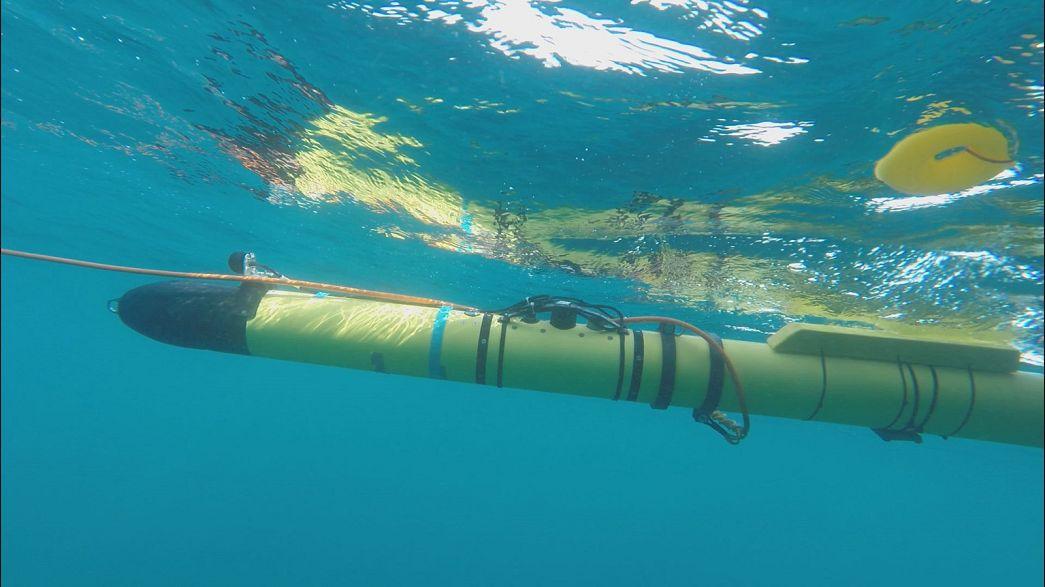 Европейские роботы раскопают морское дно