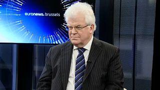L'ambassadeur de la Russie auprès de l'UE Vladimir Chizhov
