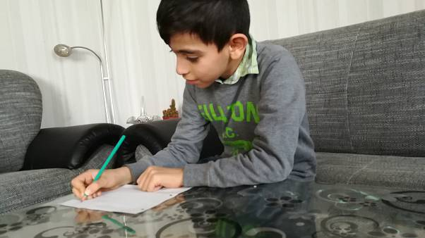 Yours truly: Syrian children share scars of war, dreams of home in letters