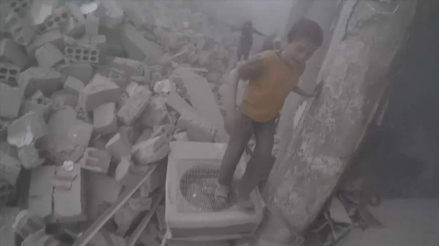 More airstrikes hit Ghouta inflicting heavy loss of civilian life
