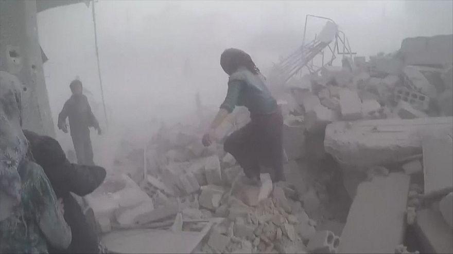 Wieder Bomben auf Ost-Ghouta