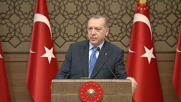 """Erdoğan: """"Temenni ederim Afrin akşama düşer"""""""