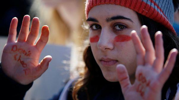 Μαζική διαμαρτυρία μαθητών στις ΗΠΑ