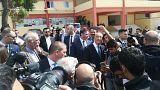 Θήβα: Ο Πορτογάλος Πρόεδρος στο πλευρό των προσφύγων
