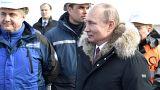 Kurz vor der Wahl: Wladimir Putin besucht die Krim