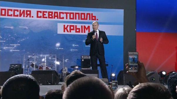Visita de Putin a Crimea