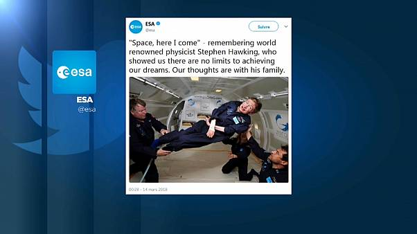 ESA's rocket scientists express their respect for Stephen Hawking